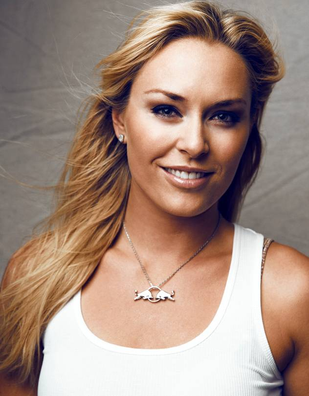 CELEBRATED SKIER LINDSEY VONN
