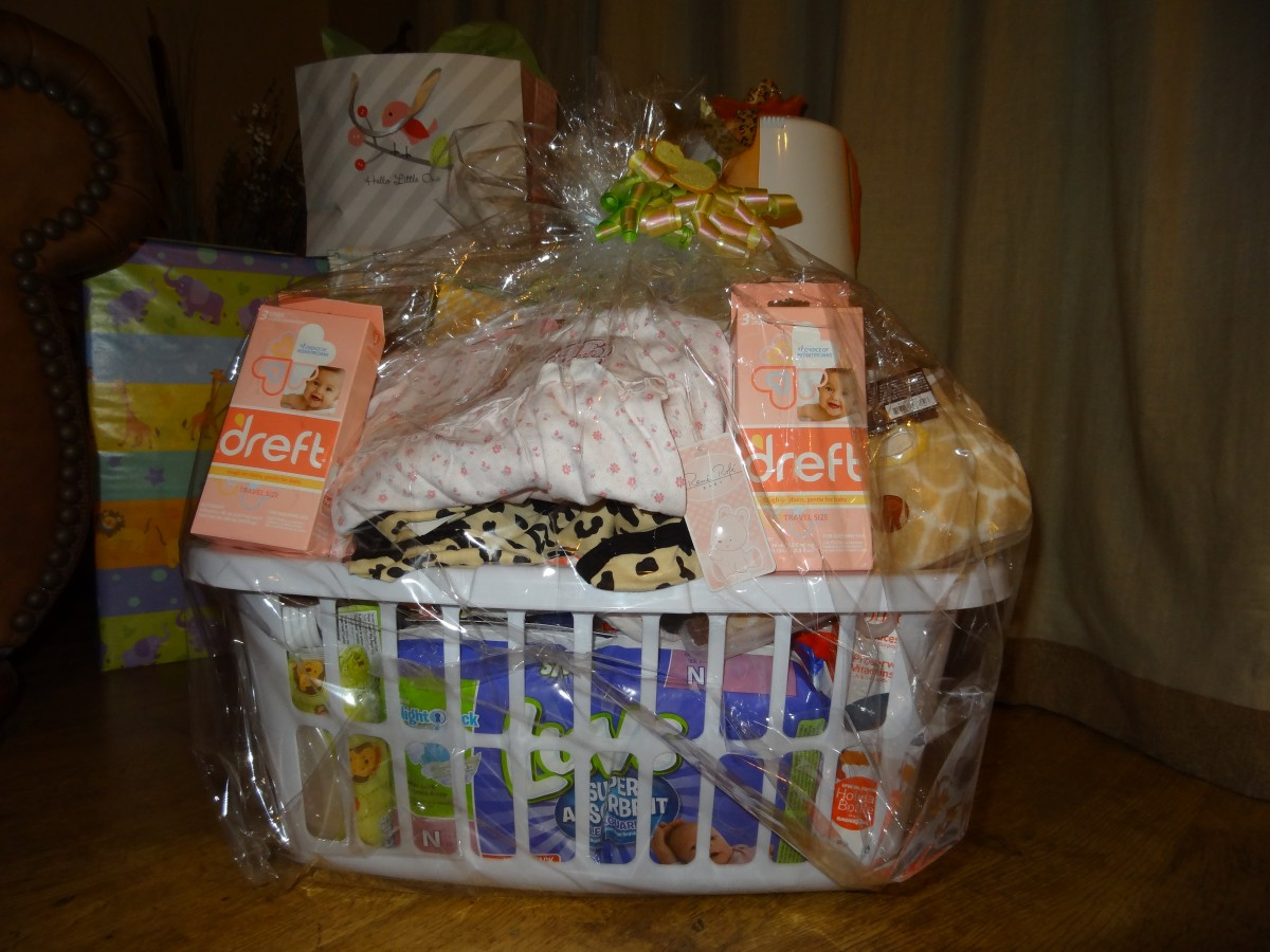 DREFT IN YOUR NEXT SHOWER GIFT BASKET